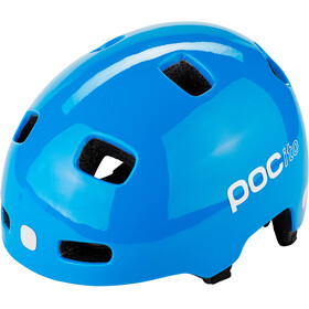 POC POCito Crane Casco Niños, fluorescent blue